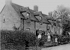 Amy as a young women in the garden of the terraced cottages on Mount Pleasant, which date back to the late 1700's.